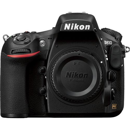 Nikon D810 DSLR Camera (Body Only, Refurbished by Nikon USA)