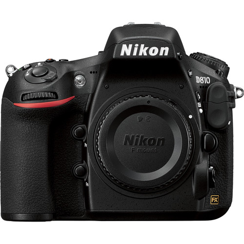 Nikon D810 DSLR Camera (Body Only, Refurbished)