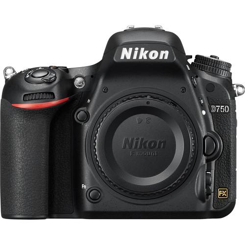 Nikon D750 DSLR Camera (Body Only, Refurbished by Nikon USA)