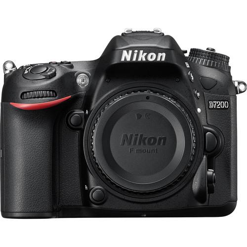 Nikon D7200 24MP FHD DSLR Camera Body