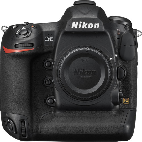 Nikon D5 DSLR Camera (Body Only, Dual XQD Slots, Refurbished)