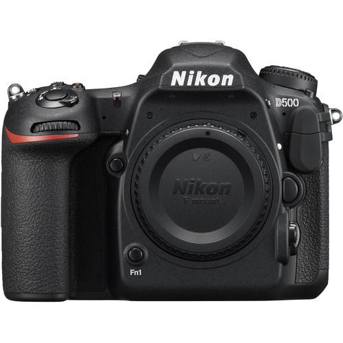 Nikon D500 DSLR Camera (Body Only, Refurbished)