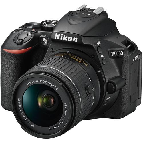 Nikon D5600 DSLR Camera with 18-55mm Lens (Refurbished)