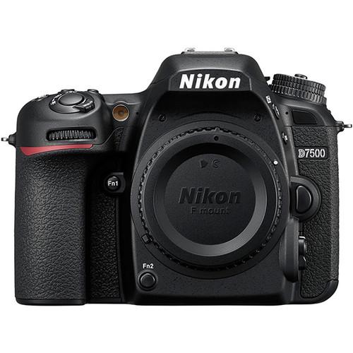 Nikon D7500 DSLR Camera (Body Only, Refurbished by Nikon USA)