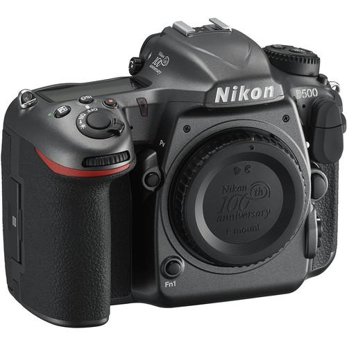 Nikon D500 DSLR Camera 100th Anniversary Edition (Body Only)