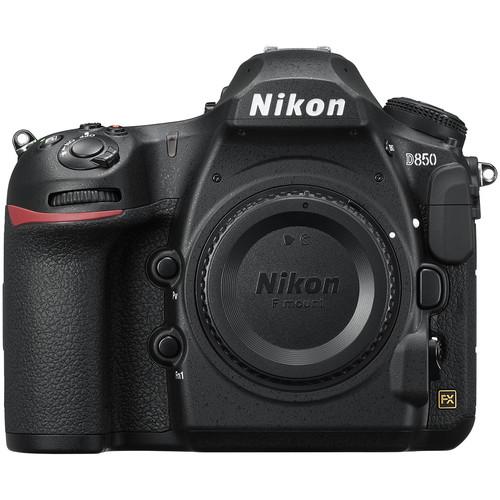 Nikon D850 DSLR Camera (Body Only, Refurbished by Nikon USA)