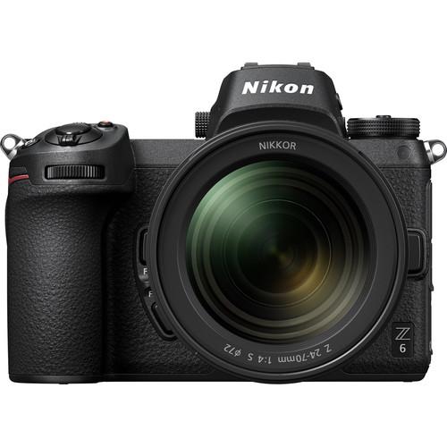 Nikon Z6 Mirrorless Digital Camera with 24-70mm Lens