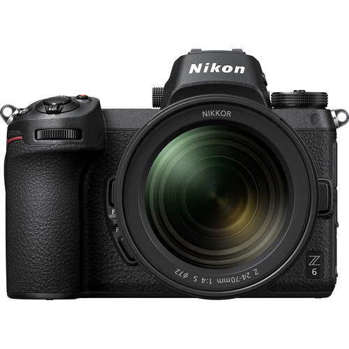 Nikon Z 6 Mirrorless Digital Camera with 24-70mm Lens (Refurbished)