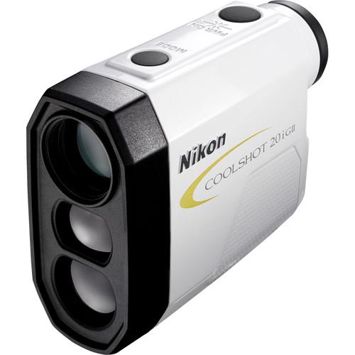 Nikon - CoolShot 20i GII 6x20 Golf Laser Rangefinder