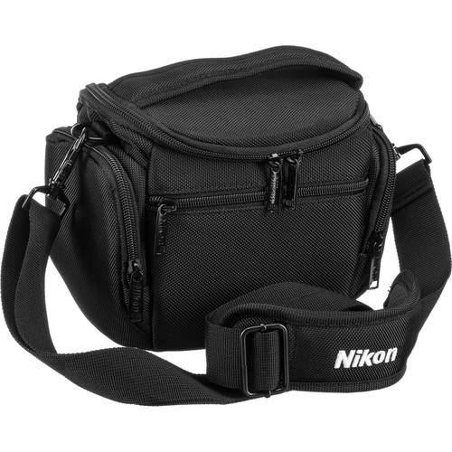 Nikon Compact Camera Bag for COOLPIX or Nikon 1 Camera (Black)