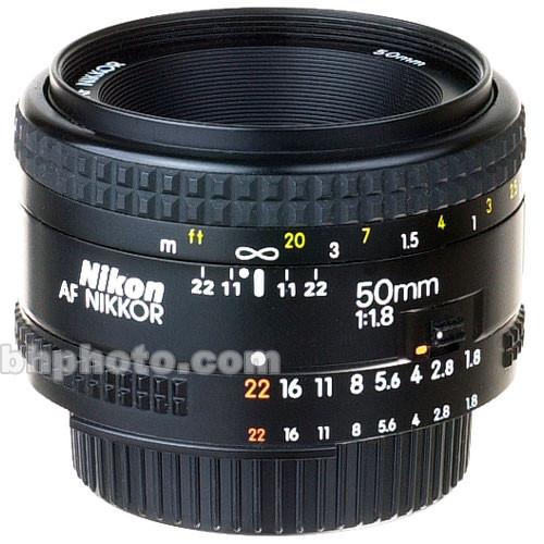 Nikon Normal AF Nikkor 50mm f/1.8 Autofocus Lens