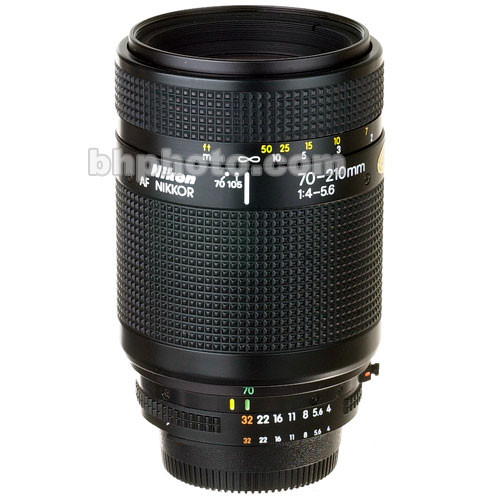 Nikon Zoom Telephoto 70-210mm f/4-5.6 AF Autofocus Lens