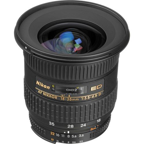 Nikon NIKKOR 18-35mm f/3.5-4.5D ED-IF Autofocus Lens