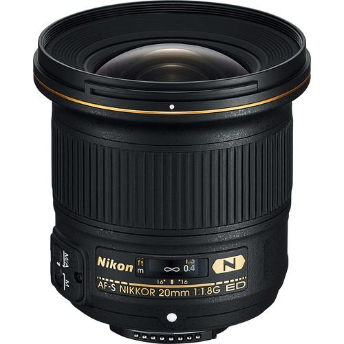 Nikon AF-S NIKKOR 20mm f/1.8G ED (Refurbished)