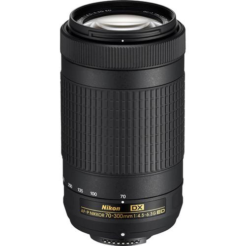 Nikon AF-P DX NIKKOR 70-300mm f/4.5-6.3G ED Lens (Refurbished by Nikon USA)