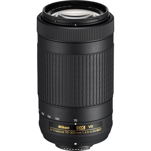 Nikon AF-P DX NIKKOR 70-300mm f/4.5-6.3G ED VR Lens (Refurbished)