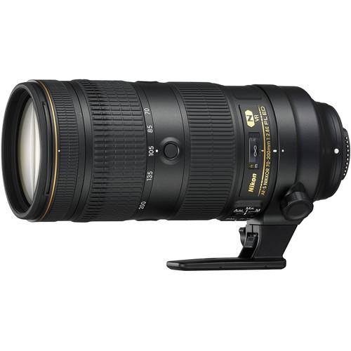 Nikon AF-S NIKKOR 70-200mm f/2.8E FL ED VR Lens (Refurbished by Nikon USA)