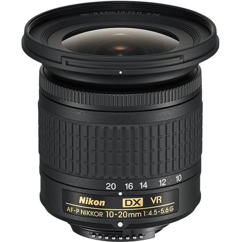 Nikon AF-P DX NIKKOR 10-20mm f/4.5-5.6G VR Lens (Refurbished by Nikon USA)