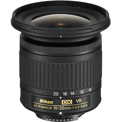 Nikon AF-P DX NIKKOR 10-20mm f/4.5-5.6G VR Lens (Refurbished)