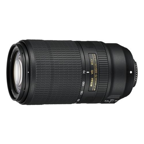 Nikon AF-P NIKKOR 70-300mm f/4.5-5.6E ED VR Lens (Refurbished)