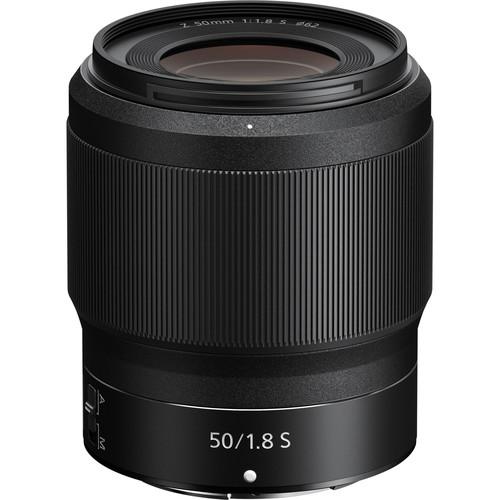 Nikon NIKKOR Z 50mm f/1.8 S Lens