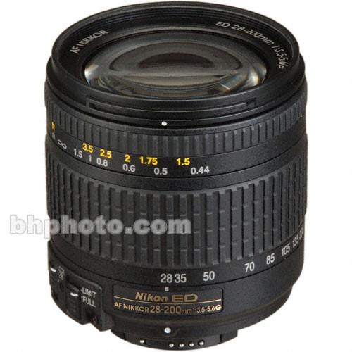 Nikon AF Zoom Nikkor 28-200mm f/3.5-5.6G ED-IF Autofocus Lens
