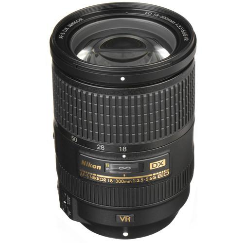 Nikon AF-S DX NIKKOR 18-300mm f/3.5-5.6G ED VR Lens