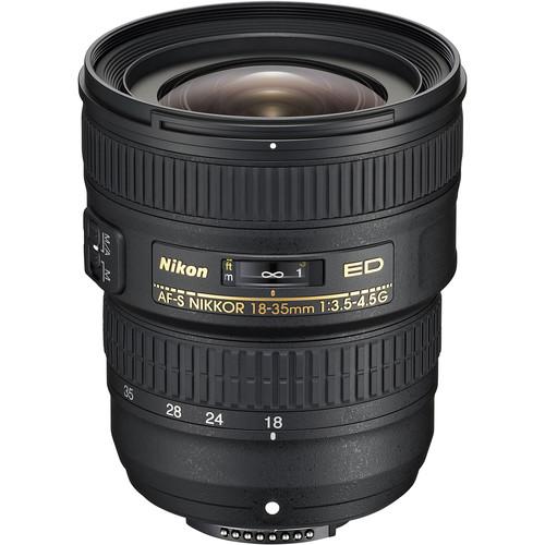 Nikon AF-S NIKKOR 18-35mm f/3.5-4.5G ED Lens (Refurbished)