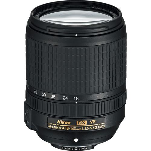 Nikon AF-S DX NIKKOR 18-140mm f/3.5-5.6G ED VR Lens (Refurbished by Nikon USA)