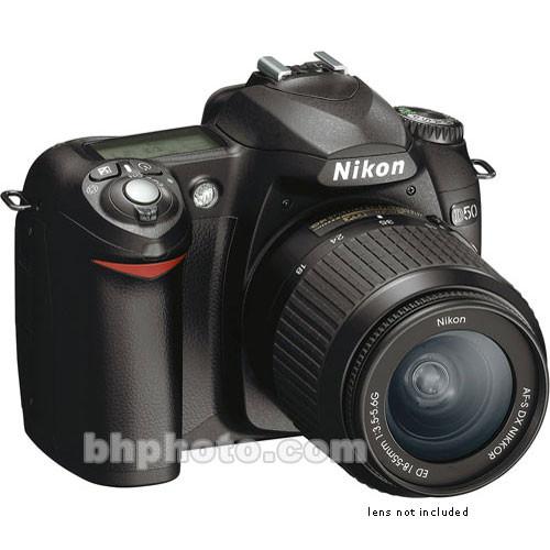 Nikon D50, 6.1 Megapixel, SLR, Digital Camera (Camera Body)