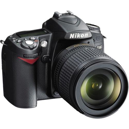 Nikon D90 DSLR Camera with 18-105mm Lens (Refurbished by Nikon USA)