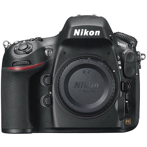 Nikon D800 Digital SLR Camera (Body Only, Refurbished)