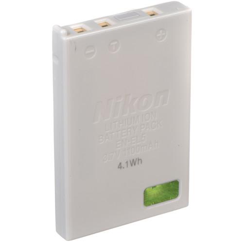 Nikon EN-EL5 Lithium-Ion Battery (3.7v 1100mAh)