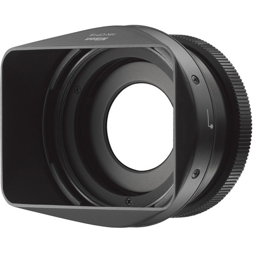 Nikon UR-E24 Filter Adapter and HN-CP18 Lens Hood Set for COOLPIX A Camera (Black)