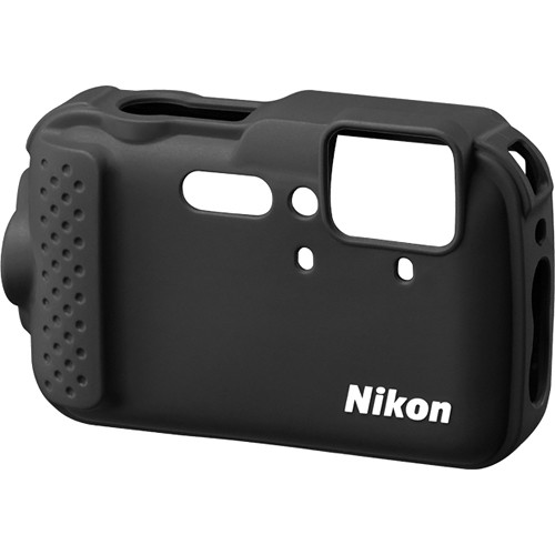 Nikon CF-CP001 Silicone Jacket for COOLPIX AW120 Digital Camera (Black)