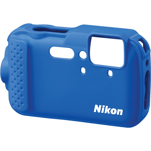 Nikon CF-CP001 Silicone Jacket for COOLPIX AW120 Digital Camera (Blue)