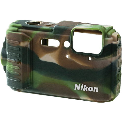 Nikon CF-CP002 Silicone Jacket for COOLPIX AW130 (Camouflage)