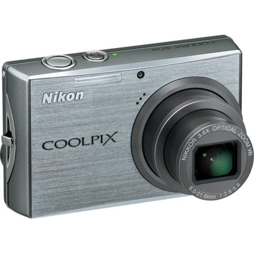 Nikon Coolpix S710 Digital Camera (Brilliant Silver)
