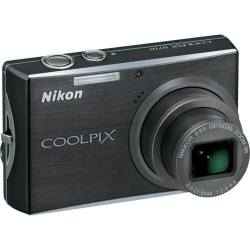 Nikon Coolpix S710 Digital Camera (Graphite Black)