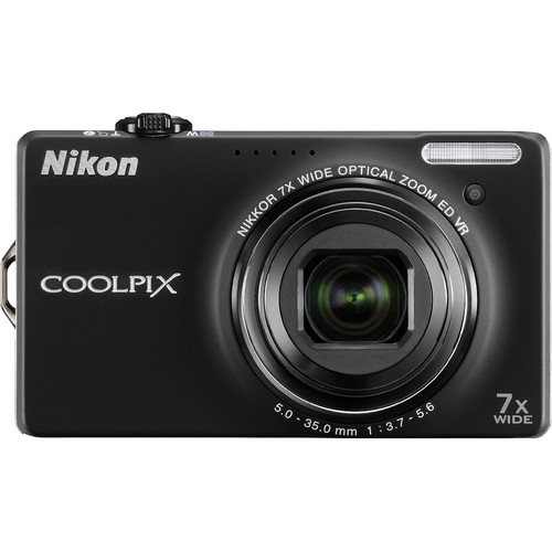Nikon CoolPix S6000 Digital Camera (Black)