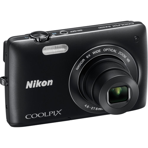 Nikon Coolpix S4300 Digital Camera (Black)