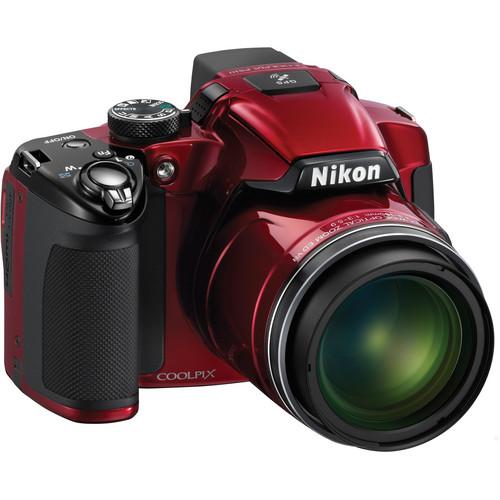 Nikon COOLPIX P510 Digital Camera (Red)