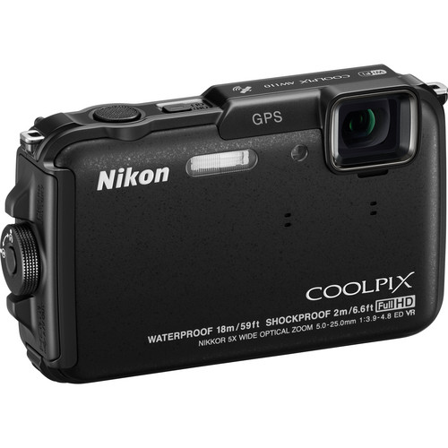 Nikon COOLPIX AW110 Digital Camera (Black)