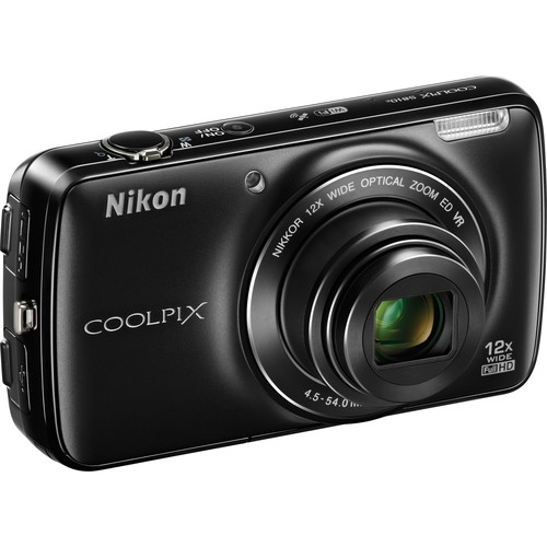 Nikon COOLPIX S810c Digital Camera (Black)