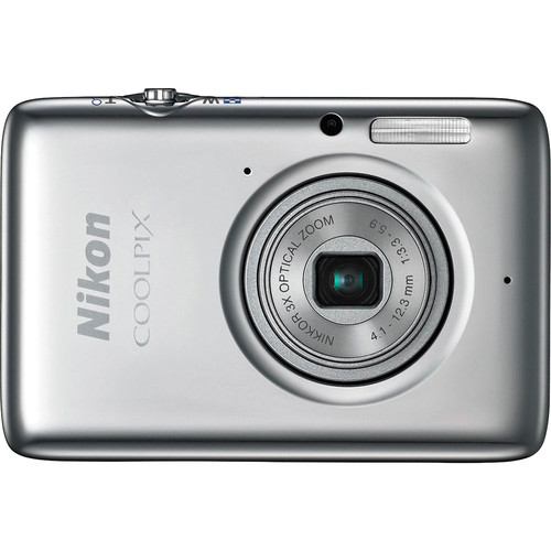 Nikon COOLPIX S02 Digital Camera (Silver)