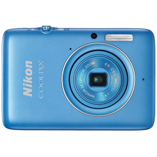 Nikon COOLPIX S02 Digital Camera (Blue)