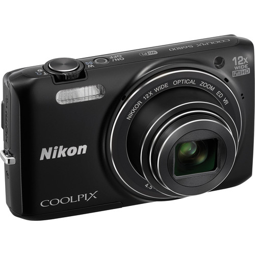 Nikon COOLPIX S6800 Digital Camera (Black)