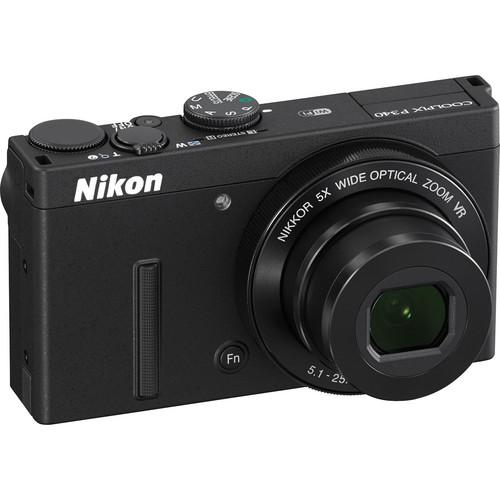 Nikon COOLPIX P340 Digital Camera (Black)