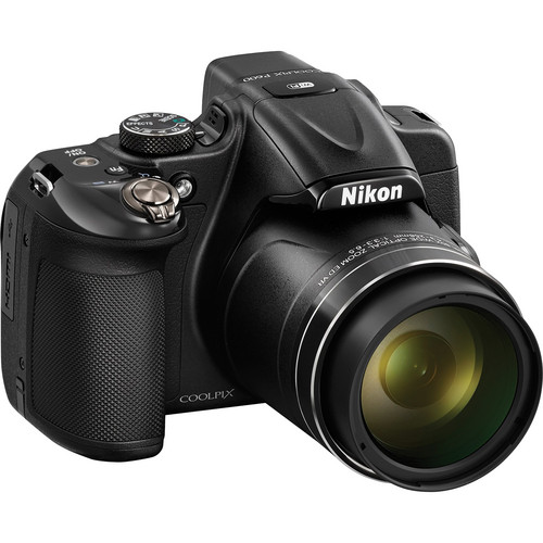 Nikon COOLPIX P600 Digital Camera (Black)
