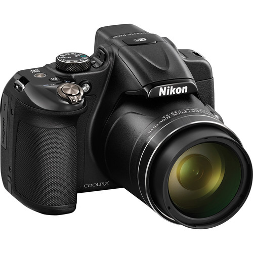 Nikon COOLPIX P600 Digital Camera (Black, Refurbished)